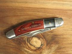 Marine Stockman (CapCase) Tags: knife cutlery blade slipjoint stockman folder pocketknife ega marines marinecorps usmarinecorps usmc semperfidelis