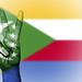 Peace Symbol with National Flag of Comoros