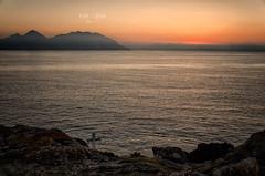 Cielos naranjas (Pat Celta) Tags: nikon d7000 landscape paisaje mar sea galicia galiza