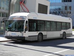 STM 36-902 (1) (magnetboy1) Tags: stm 36902 2016novabuslfse electricbus roadtest metrosquarevictoriaoaci downtown montreal