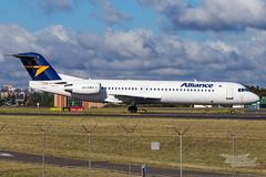 VH-XWN QQ F100 34R YSSY-9406 (A u s s i e P o m m) Tags: alliance qq fokker f100 syd yssy sydneyairport