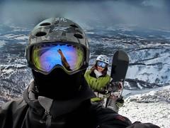 ON TOP... (/\ltus) Tags: annupuri niseko hokkaido japan powder snowboard historyredux pentax northface