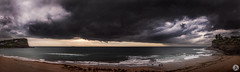 The Big Wet (John_Armytage) Tags: storm rain clouds avalon northernbeaches johnarmytage australia nsw visitnsw stormcell weather pano panorama panoramic sony sonya7r2 sony1635 beach littlleav