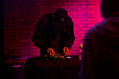 Openin' it Up (Brother Christopher) Tags: art arts artistry audio institute institution school students tech creative creatives creativity portrait explore closeup dj music setup dance work talent talented miosoul culture disc hiphop nyc midtown brotherchris set learn