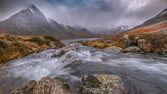 My soul belongs here.... (Einir Wyn Leigh) Tags: orangeandblue mountains rain valley natural beauty water river climate blue orange rocks storm outdoors snowdonia ogwen wales cymru peace tranquility happiness love nikon sigma lens uk