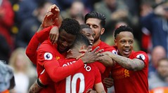 ไฮไลท์ฟุตบอล ลิเวอร์พูล 3-1 เอฟเวอร์ตัน (Premier League) พรีเมียร์ลีก