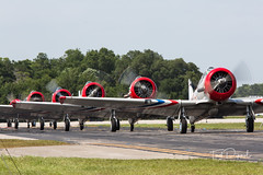 SnF20150425-1592.jpg (flyer_2001) Tags: skytypers prattwhitney usa lakelandairport r1340an1 formations geico florida displayteam northamerican snj2 sunnfun pw lakeland