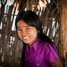 Jeune fille Birmane. Bagan. Myanmar.