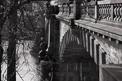 Brücke der Legionen, Prag (kalakeli) Tags: brückederlegionen brücken bridges mostlegií vltava moldau sw bw blackandwhite schwarzweis