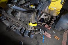 ZF2Y6497.jpg (Adam the ribless) Tags: repair racecar removal vx220 elise lotus ly36 sun clam fiberglass british vauxhall sportscar servicing radiator performance racing