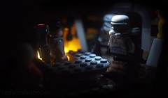 Break on Mos Eisley (Alexandré Nuarin) Tags: starwars stormtrooper365 stormtrooper starwarsiv anewhope lego legography legominifigs legocentral low key skywalker cantina mos eisley toyphotography toys toydiscovery tatooine bartender holiday breaktime