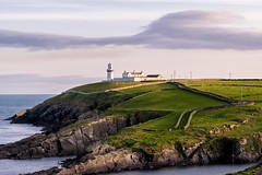 Galley Head Lighthouse (Ray Moloney Photography) Tags: ifttt 500px sky beauty water travel blue light clouds coast house lighthouse ocean rocks building beautiful white green black wall seascape steps ireland south coastal galley head cork county éire raymoloneyphoto