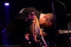 IMG_2365 (redrospective) Tags: 2017 20170316 davehause london march2017 thegarage black concert concertphotography dark electricguitar gig guitar guitarist instruments live man microphone music musicphotography musicians people rockmoves singer singing spotlights