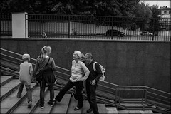 DR150802_0660D (dmitry_ryzhkov) Tags: kid kids crosswalk crossing glasses family mother father son underground step stair stairway steps smile converse conversation group sony alpha black blackandwhite bw monochrome white bnw blacknwhite day daylight man men woman women lady art city europe russia moscow documentary journalism street streets urban candid life streetlife citylife outdoor outdoors streetscene close scene streetshot image streetphotography candidphotography streetphoto candidphotos streetphotos moment light shadow people citizen resident inhabitant person portrait streetportrait candidportrait unposed public face faces