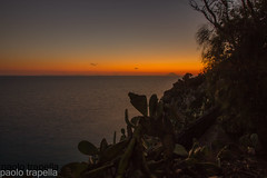 Stromboli (paolotrapella) Tags: stromboli vulcano calabria italy mare tramonto sunset lunga esposizione long exposure