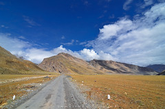 The Road - The Beauty (_Amritash_) Tags: roadtripinhimalayas roadtrip road himalayas himalayanlandscape landscapes spiti kaza clouds summer himachal himachalpradesh incrediblehimachal travel travelinhimalayas theroadthebeauty mountains mountainpass middleland reminiscence leading leadinglines