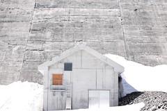Barrage de salanfe (anakhorii) Tags: nature archi outdoors mountains switzerland minimalistphotography minimalism salanfe barrage