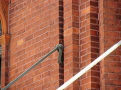 Span Wire Support, Haymarket, Sydney, NSW. (dunedoo) Tags: haymarket sydneytramway sydney nsw newsouthwales australia nikonl820 spanwiresupport