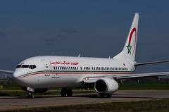 Boeing 737-8B6(WL), Royal Air Maroc, CN-ROA (OlivierBo35) Tags: nantes nte spotting boeing b737 ram maroc