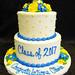 GB-118 Tiered Grad Cake