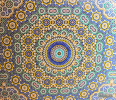 MosaïK (CH-Romain) Tags: ouarzazate kasbah telouet maroc morocco glaoui pacha palace marrakech afrique architecture typique typical mosaique interieur exterieur original berbere montagne atlas haut montain vallee village marocain pierre art maison tradition traditionnel africa african authentic authentique
