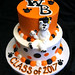 GB-117 Tiered WB Grad Cake