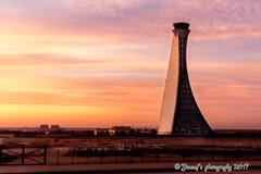 Abu Dhabi ATC (yousaf10c) Tags: abudhabi airport abu sunrise golden hour clouds