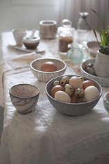 Eggs for Easter (Ira Rodrigues) Tags: egg easter conceptual tabletop styling canon photography spring ceramic raku