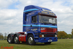 ERF EC11 Olympic 'M.S. Wayman & Sons Ltd' reg T228 KFL (erfmike51) Tags: easterncountiesvintageshow2017 erfec11 olympic truck artic cummins lorry mswaymansonsltd