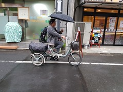 Tokyo Citizen Cyclists (Mikael Colville-Andersen) Tags: japan bike bicycle citizen cyclist cyclechic trike tricycle elderly