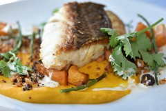 (sabinakurt62) Tags: food fish lunch delicious restaurant menu harbourfront wollongong snapper vegetables yammy
