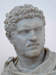 002 Bust of Caracalla,Naples National Archaeological Museum (2) (tobeytravels) Tags: naplesmuseum archaeological farnese caracalla bust marble statue