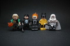 Street Level (H.-o.-p.-E.) Tags: lego marvel defenders ghostrider punisher hellcat hellskitchen ironfist moon knight netflix agent shield reyes