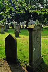 In The Shadows (john_mullin) Tags: cemeteries history cemetery grave graveyard death scotland decay headstone perthshire scottish graves perth gravestone marker historical markings burialground gravemarker socialhistory