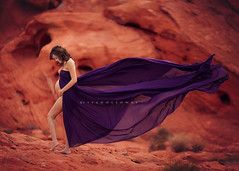 Winds of Change (yui fan) Tags: las vegas red portrait beautiful canon fire photography rocks pretty photographer dof dress purple desert wind bokeh nevada lisa blowing pregnant maternity valley shallow holloway 200l 500px 5dmarkiii ljholloway ifttt