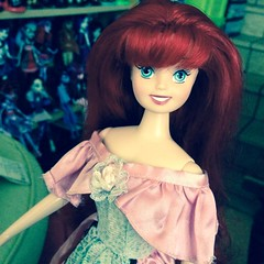 Disney Theme Parks Classic Ariel (MyMonsterHighWorld) Tags: classic ariel doll market barbie parks disney theme flea