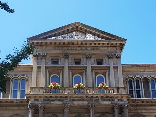 Louisville Ky ~ Louisville City Hall ~ Pediment