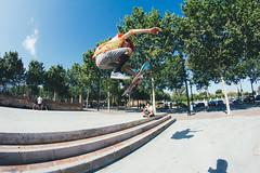 Non stop (Leo Hidalgo (@yompyz)) Tags: street urban stairs canon photography eos random skatepark skate benalmdena t3i 600d ileohidalgo yompyz
