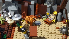 Archibald's Encampment (Hacim Bricks) Tags: tree wall tag3 toy tag2 tag1 lego yo legos tag4 tag5 hacim hacimbricks