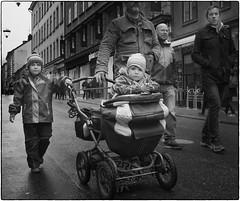 Follow the leader (stejo) Tags: family baby barn child stockholm streetphoto buggy familj barnvagn götgatan ilobsterit