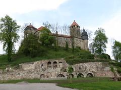 Elgersburg, im Thringer Wald (germancute) Tags: castle forest germany deutschland thringen dorf village thuringia wald burg schlos elgersburg germancute