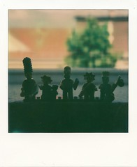my favorite tv family (jbuildings) Tags: shadow silhouette project polaroid sx70 lego bart lisa simpsons maggie homer instant marge protection schatten impossible sx polaroidcollection px minifigures px70 impossibleproject jbuildings