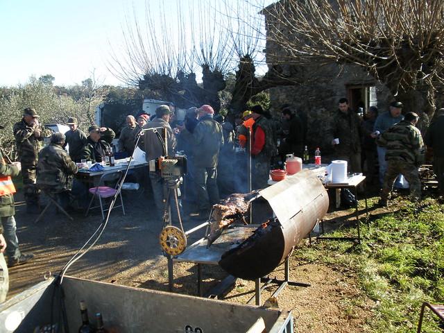 chasse cabasse repas 2009