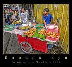 Banana-Q (FotoGrazio) Tags: food painterly man men art fruit colorful s