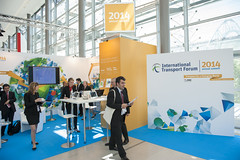 International Transport Forum stand