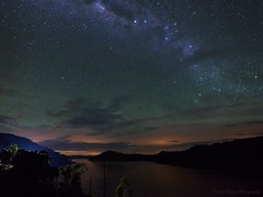 Midnight at Lake Windamere, NSW Australia (ourkind) Tags: canon stars nightscape australia southerncross nsw milkyway airglow