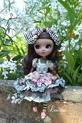 Pims dans le jardin (~Louna~) Tags: jardin wig pullip fc poisongirl nahato fullcustom fullcusto