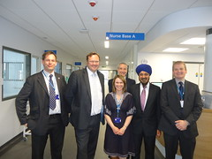 "Stephen Mosley MP visits new ICU at Countess of Chester Hospital • <a style=""font-size:0.8em;"" href=""http://www.flickr.com/photos/51035458@N07/14089399724/"" target=""_blank"">View on Flickr</a>"