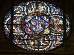 Canterbury Cathedral 61/100 (shani1709) Tags: blue red white green window glass saint yellow symbol saints stainedglass symbols symbolism churchwindow