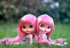 Pink Hair Sisters...*Melody & Raspberry Pie**